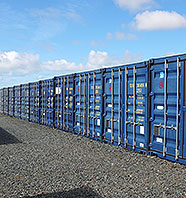 Self-Storage Containers, Launceston, Cornwall
